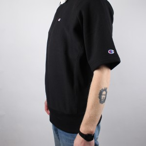 Crewneck Short Sleeves Sweatshirt 214289 KK001 NBK