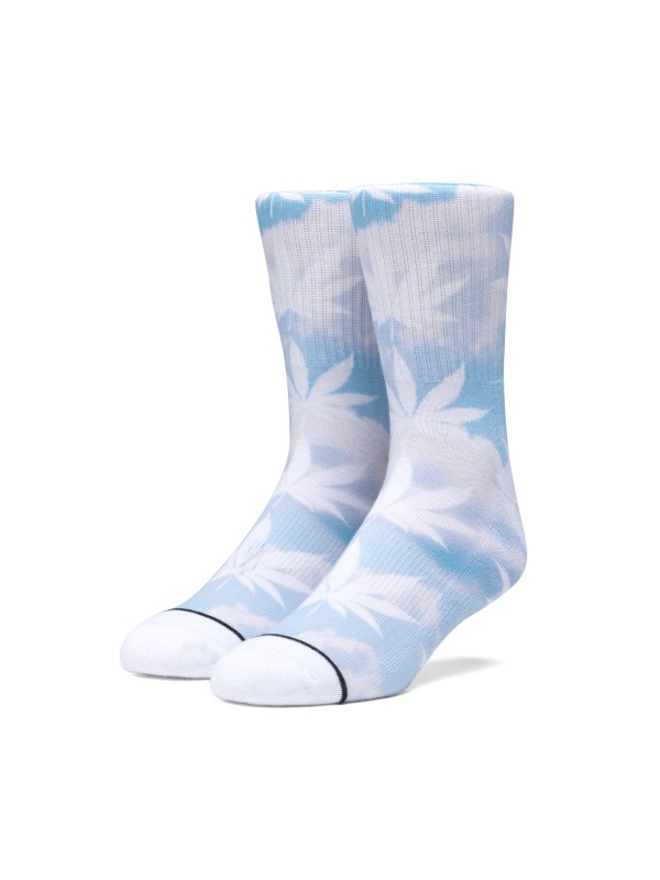 Digital Cloud Plantlife Sock Greek Blu SK00431-GKBLU
