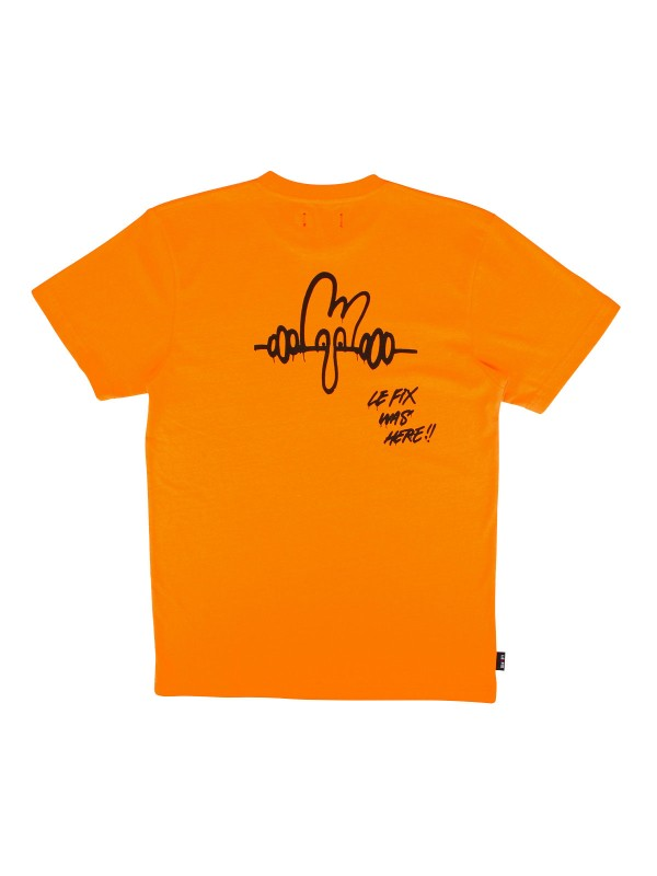 LF Was Here Tee Orange 200100708