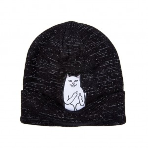 Lord Nermal Ribbed Beanie Reflective RND3981