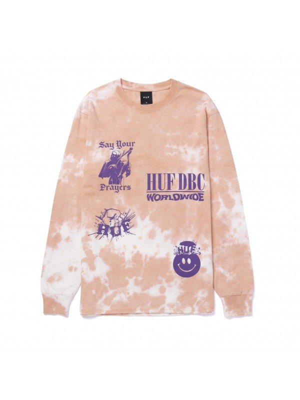 Disorder L/S Tee Coral TS01489-CORAL