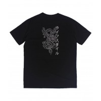 Traditional Dragon Oversized Tee Black (SPECIAL) LF213-161111