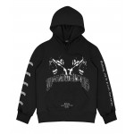 Hoodie Anger Faded Black WP21CPF34