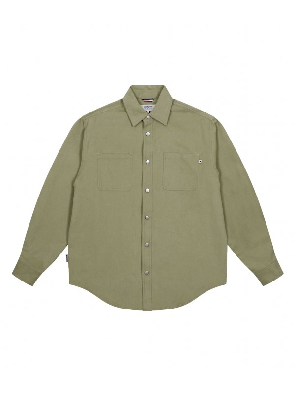 West Flannel Shirt Olive 181.322-608