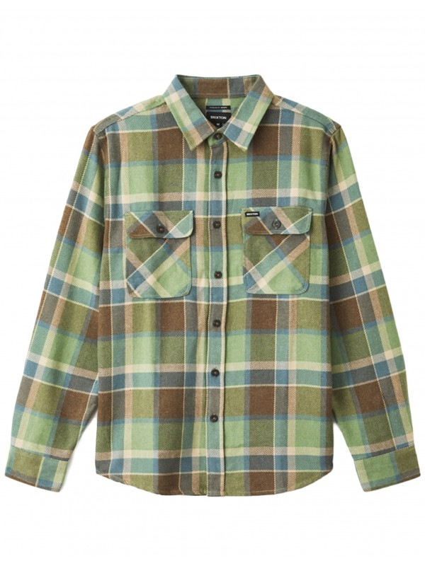Bowery L/S Flannel Toffee 01213-TOFFE