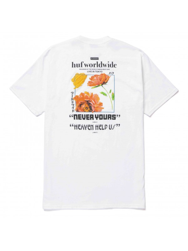 Never Yours S/S Tee White TS01457-WHITE