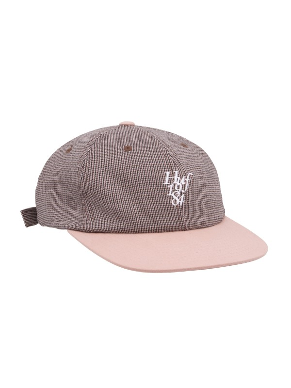 Micro Houndstoot 6 Panel Hat Dusty Rose HT00554-DSTRS