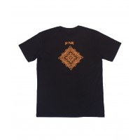 Le Flux x Andy van Rens Mandala Tee Black/Orange LF211-051111