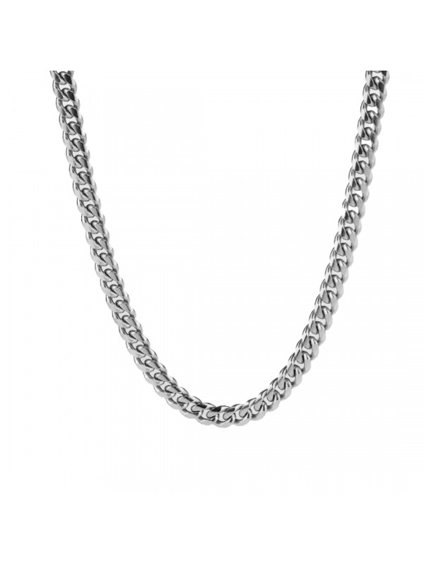 Sequence Necklace Silver Tone
