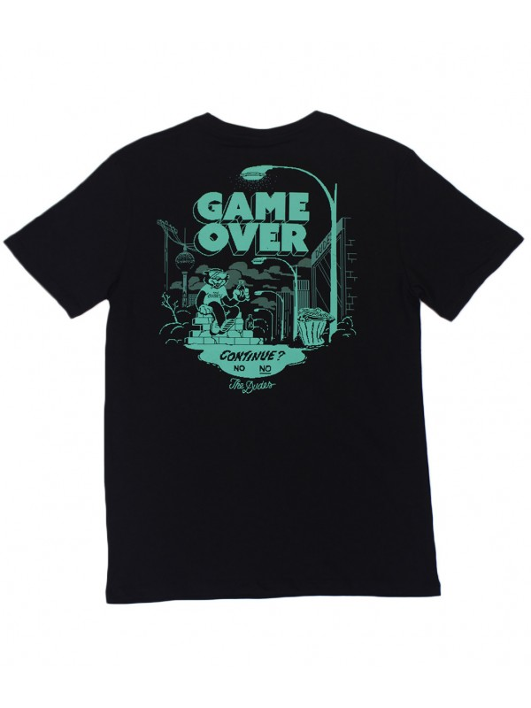 Game Over Tee Black 1005002