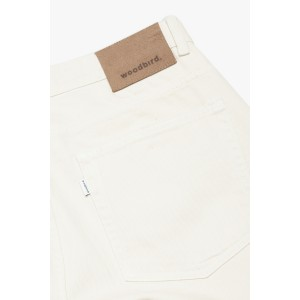 Doc Twill Pants Off White 2036-102