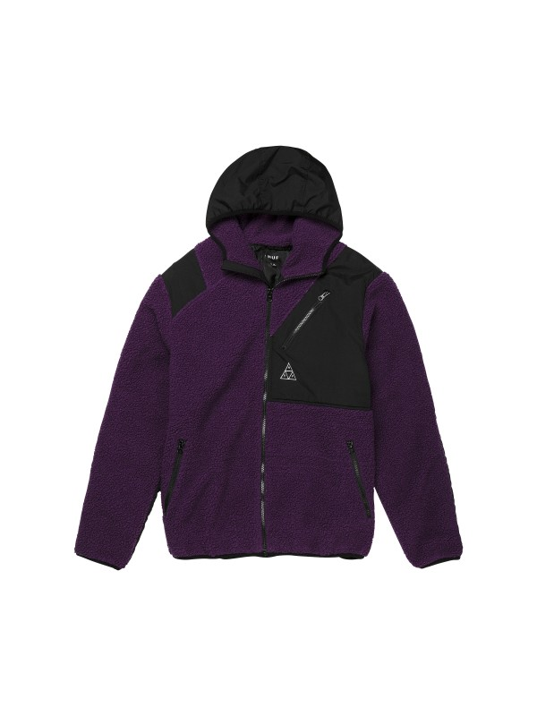 Aurora Tech Jacket Pruple Velvet JK00168-PRPLV
