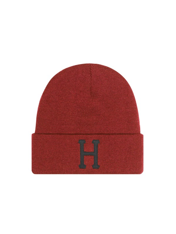 Classic H Beanie Rose Wood Red BN00074-RWRED