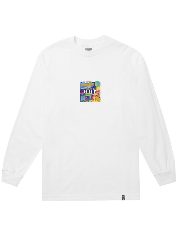 Comics Box Logo L/S Tee TS00884-WHITE