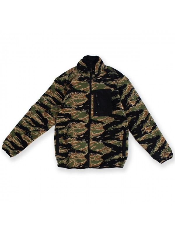 Milton Rev Polar Fleece Jacket Tiger/Camo JK00185-TIGCA