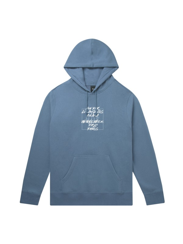 Takeover P/O Hoodie Blue Mirage PF00157-BLMIR