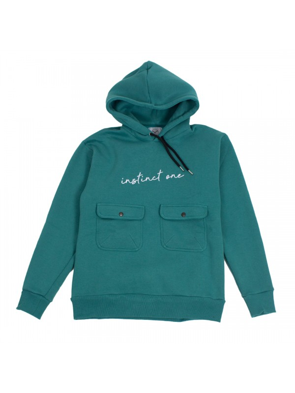 Utility Differ Hoodie Green IO19031