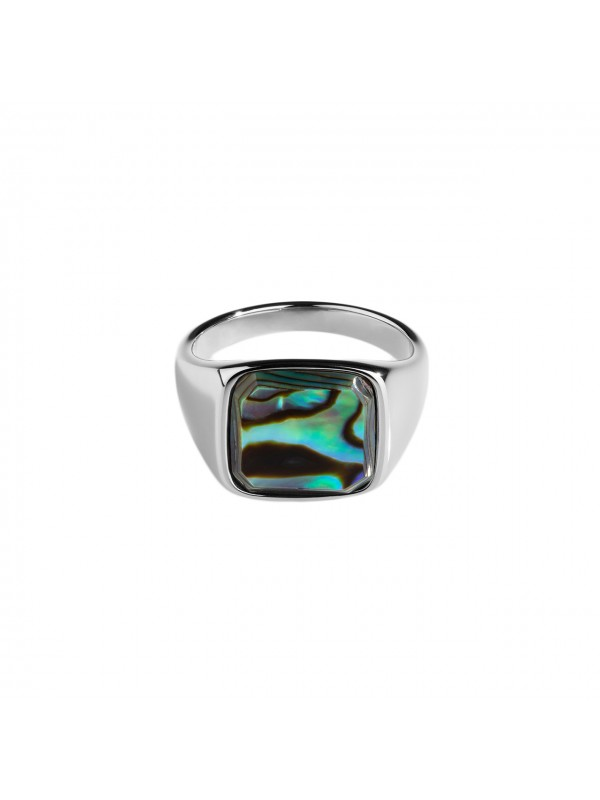 Abelone Signature Ring - Silver
