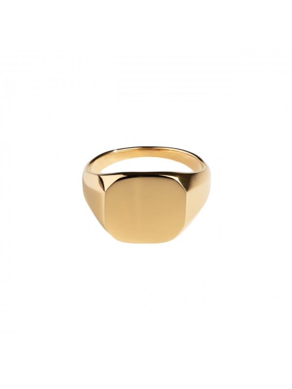 Classic Signature Ring - Gold