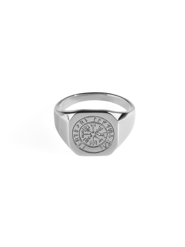Vegvisir Signature Ring - Silver