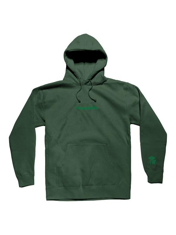 Embroidered Origin Hood Hunter Green QL-19FAD2-2120-HGRN