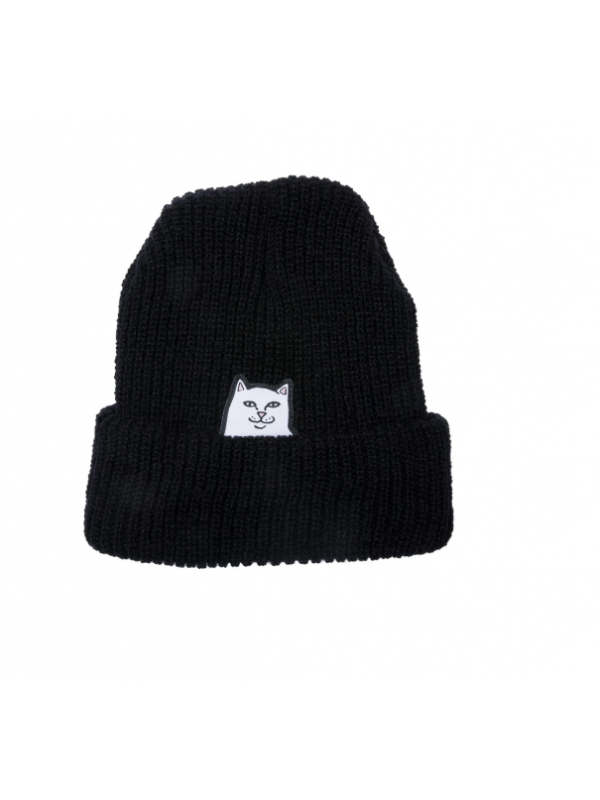 Lord Nermal Rib Beanie Black RND3984