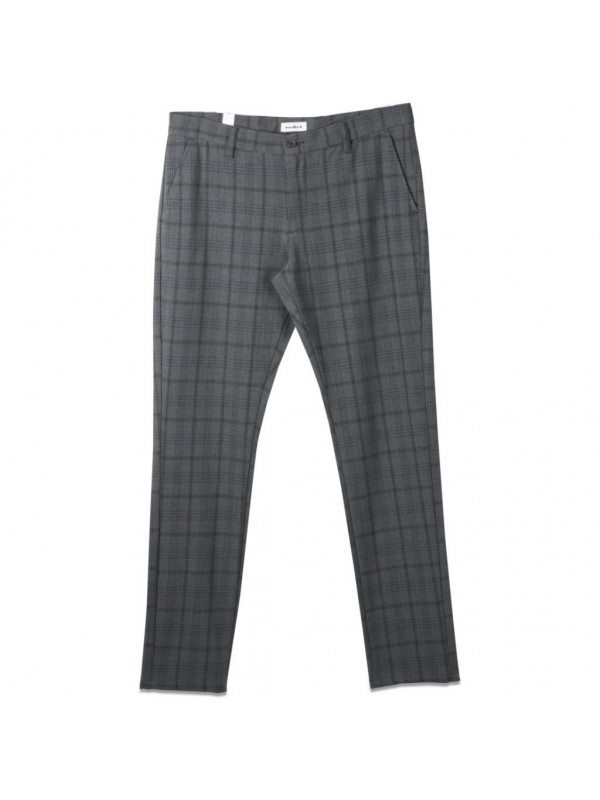 Steffen Check Pant Grey 1936-201