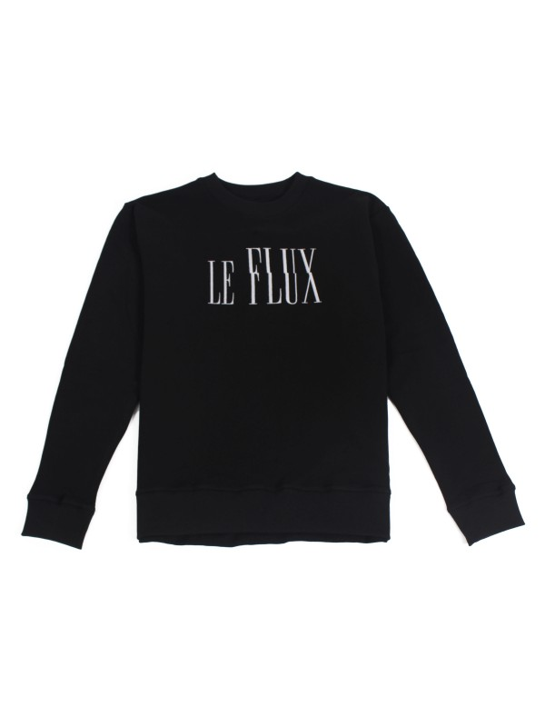 Le Flux Crewneck Black